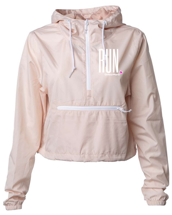 Zephyr Crop Windbreaker