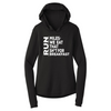 Miles for Breakfast - Women's Performance Hooded Pullover - OnYourMarQ Running Co.