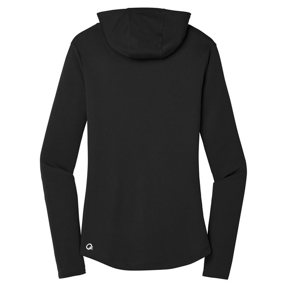 Trailrunner: Talk Dirty to Me  - Women's Performance Hooded Pullover - OnYourMarQ Running Co.