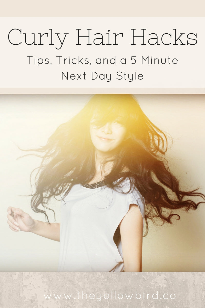 Curly Hair Hacks Tips Tricks And A 5 Minute Style The