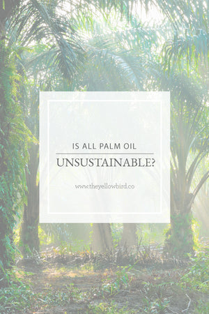 Is all Palm Oil Unsustainable?