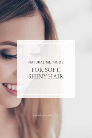 Natural Methods for Soft, Shiny Hair