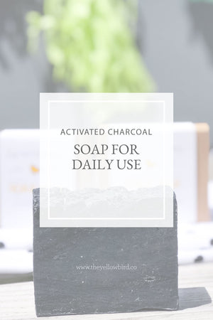 Activated Charcoal Soap for Daily Use