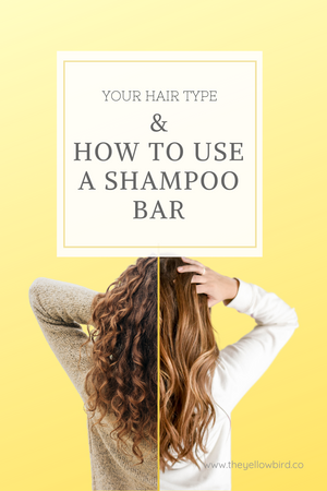 Your Hair Type and How To Use A Shampoo Bar