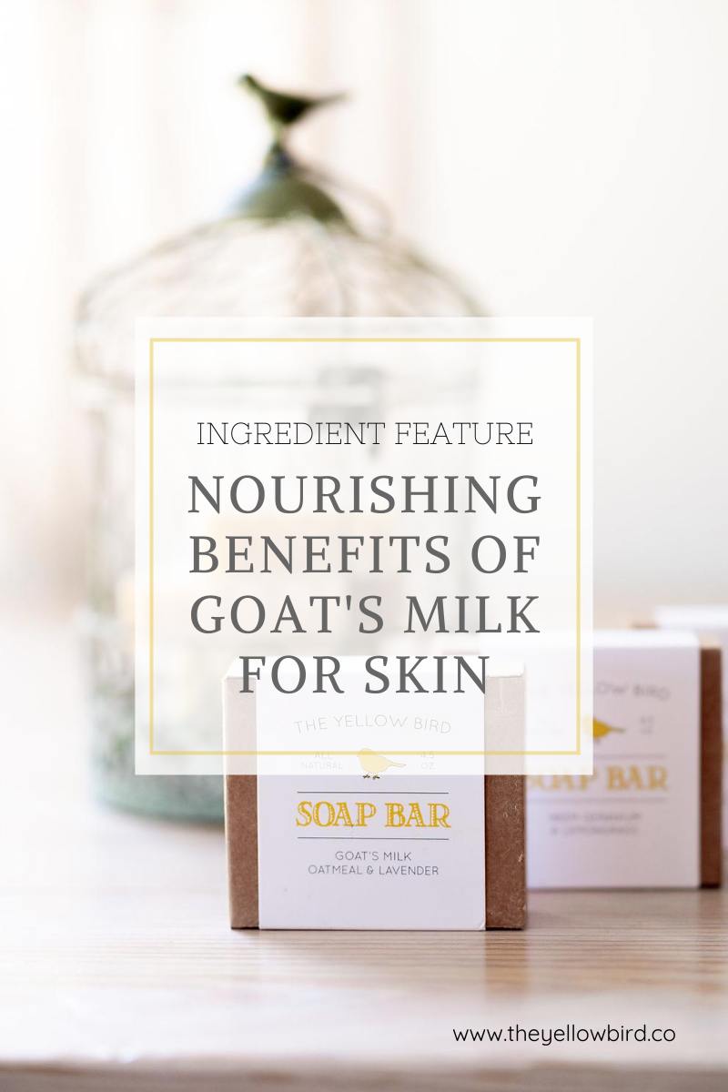 Benefits of Goat's Milk for Skin