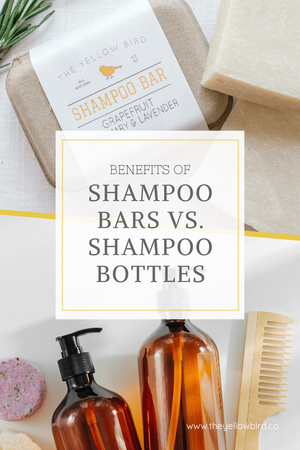 Benefits of Shampoo Bars vs. Shampoo Bottles