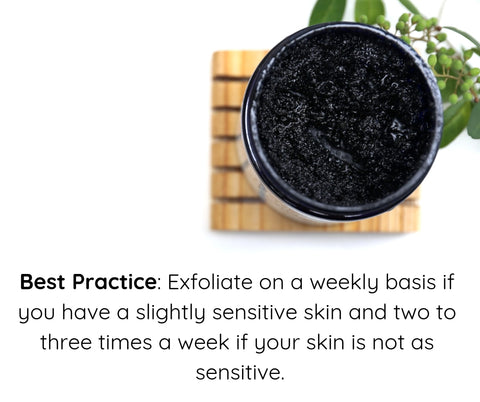 the yellow bird blog exfoliate how to best practice