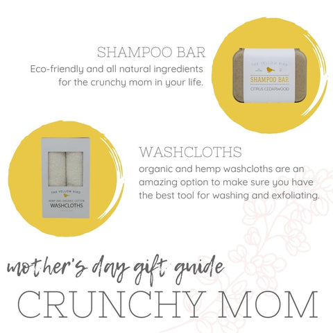 Mother's Day gift guide Crunchy Mom