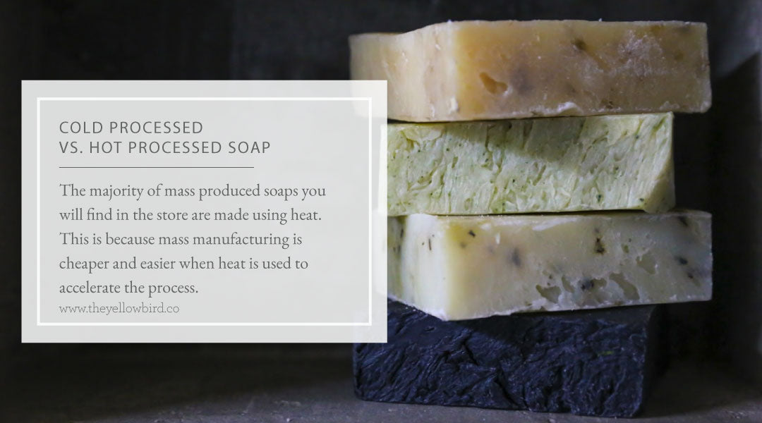 Cold Processed vs. Hot Processed Soap