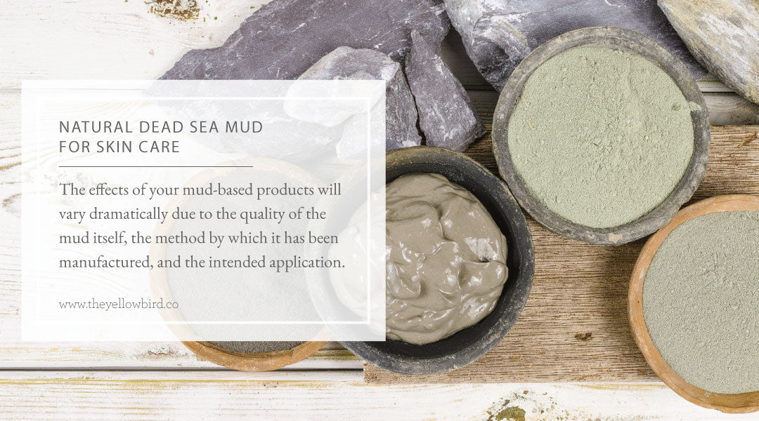 Natural Dead Sea Mud for Skin Care