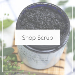 scrub activated charcoal yellow bird shop