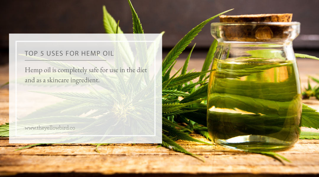 Top 5 Uses for Hemp Oil