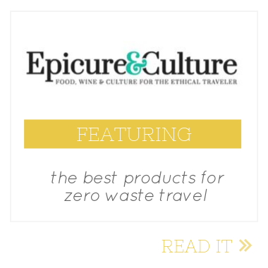 epicure and culture zero waste travel feature