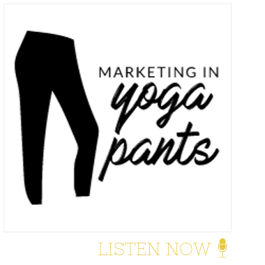 marketing in yoga pants natural skincare company feature