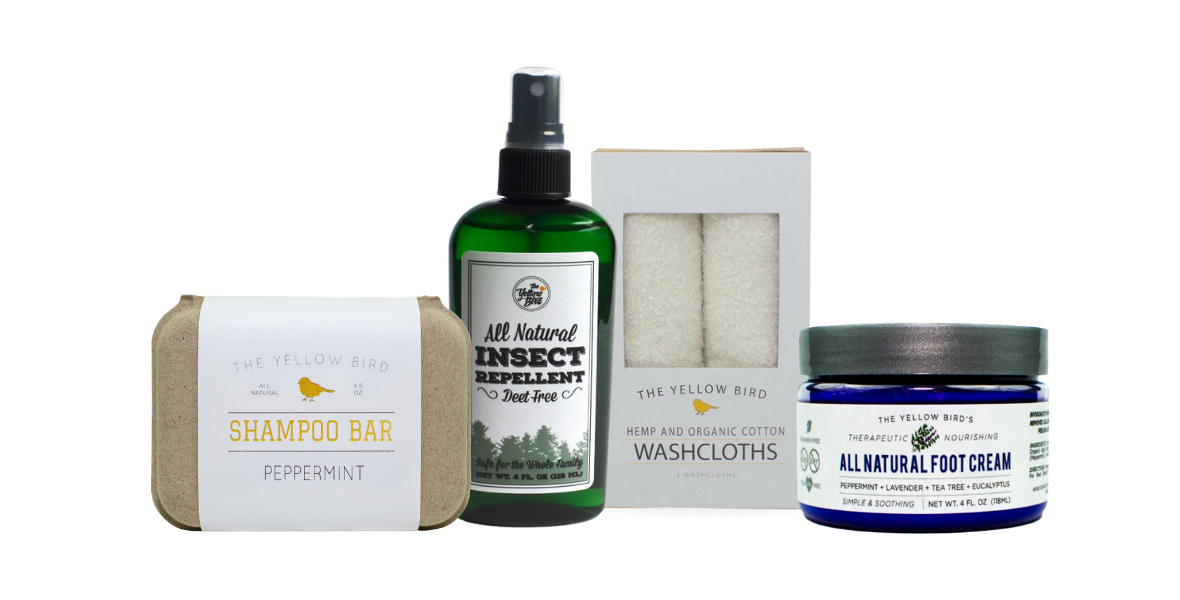 the yellow bird all natural skincare products for the whole family
