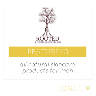 rooted gentlemen skincare for men feature