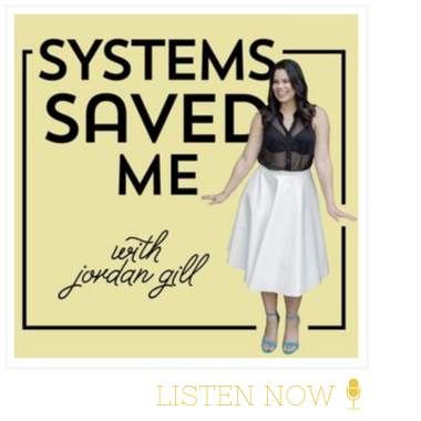 systems saved me podcast