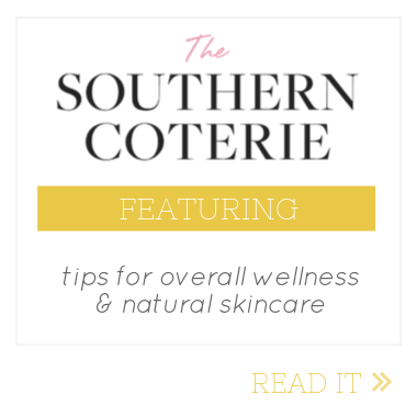 the southern coterie natural skincare feature