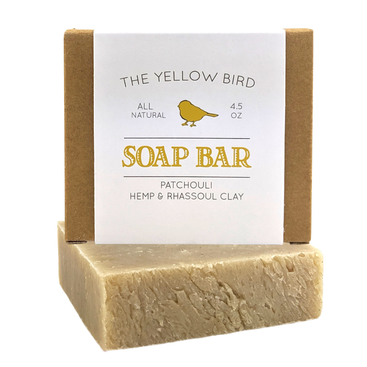 Patchouli, Hemp, Clay Soap Bar