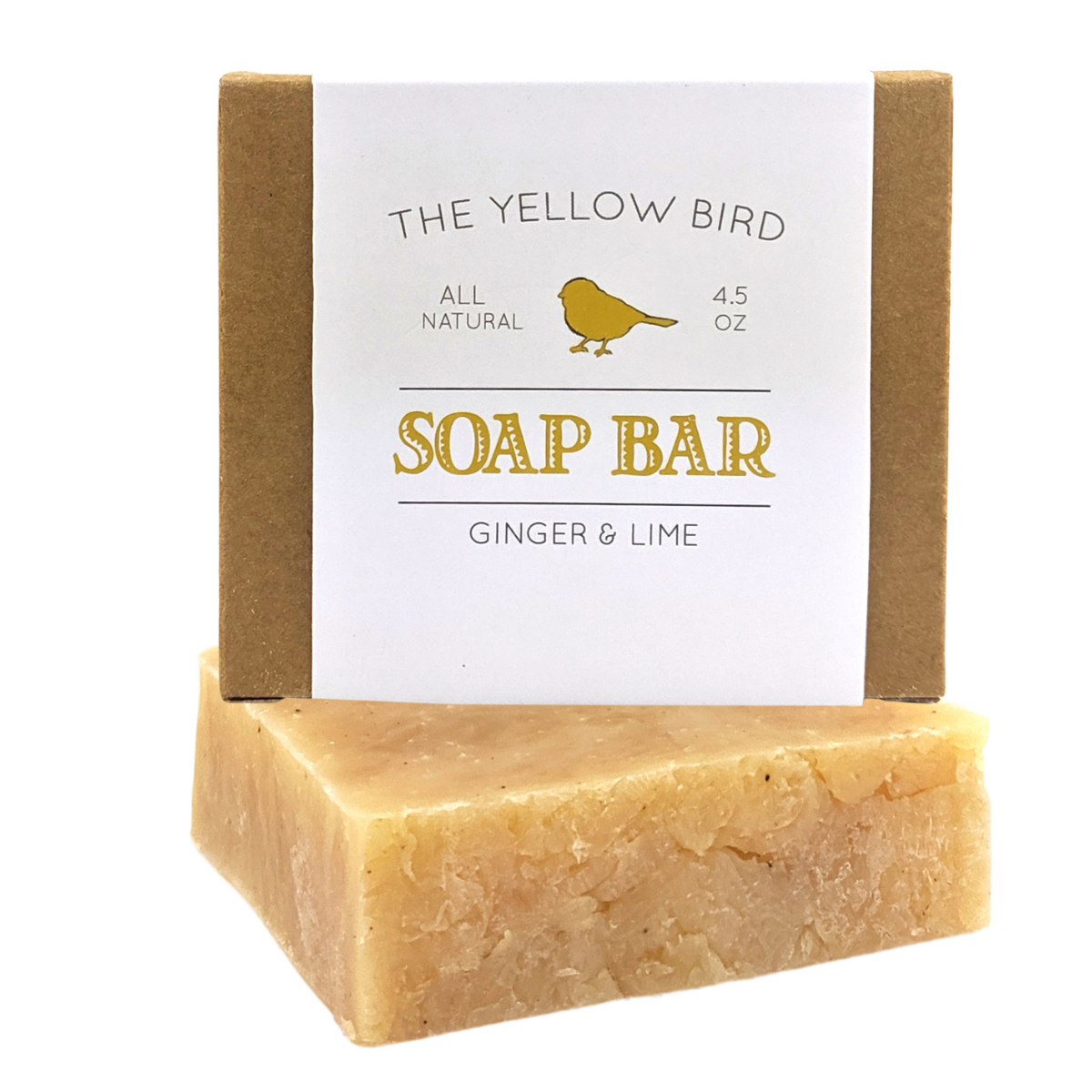 Ginger Lime Soap Bar