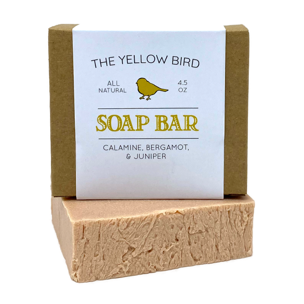 Calamine Bergamot Juniper Soap Bar