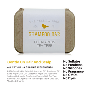 Eucalyptus Tea Tree Shampoo Bar