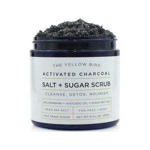 Charcoal Salt & Sugar Scrub