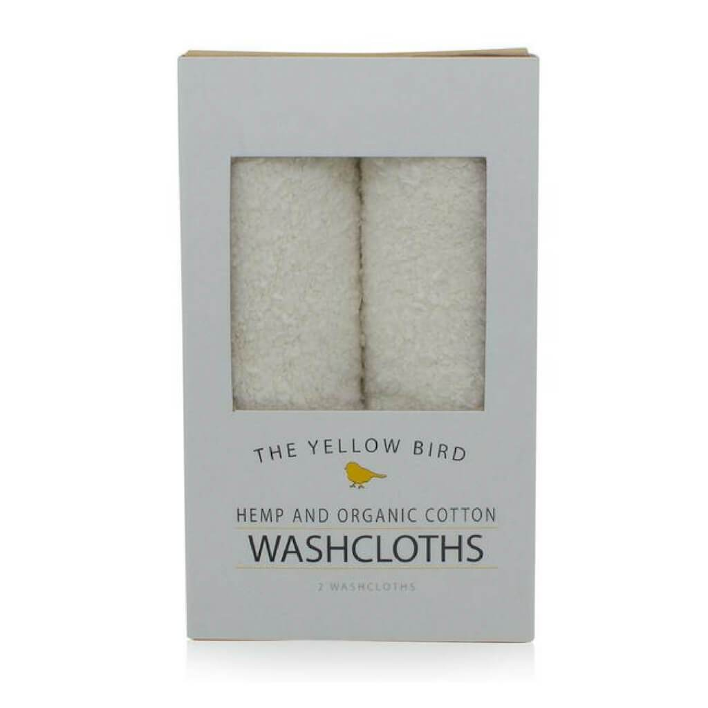 organic hemp all natural washcloths for gentle exfoliation and cleansing