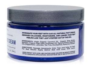 All Natural Foot Cream