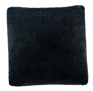 Hemp & Organic Cotton Wash Cloths (Black)