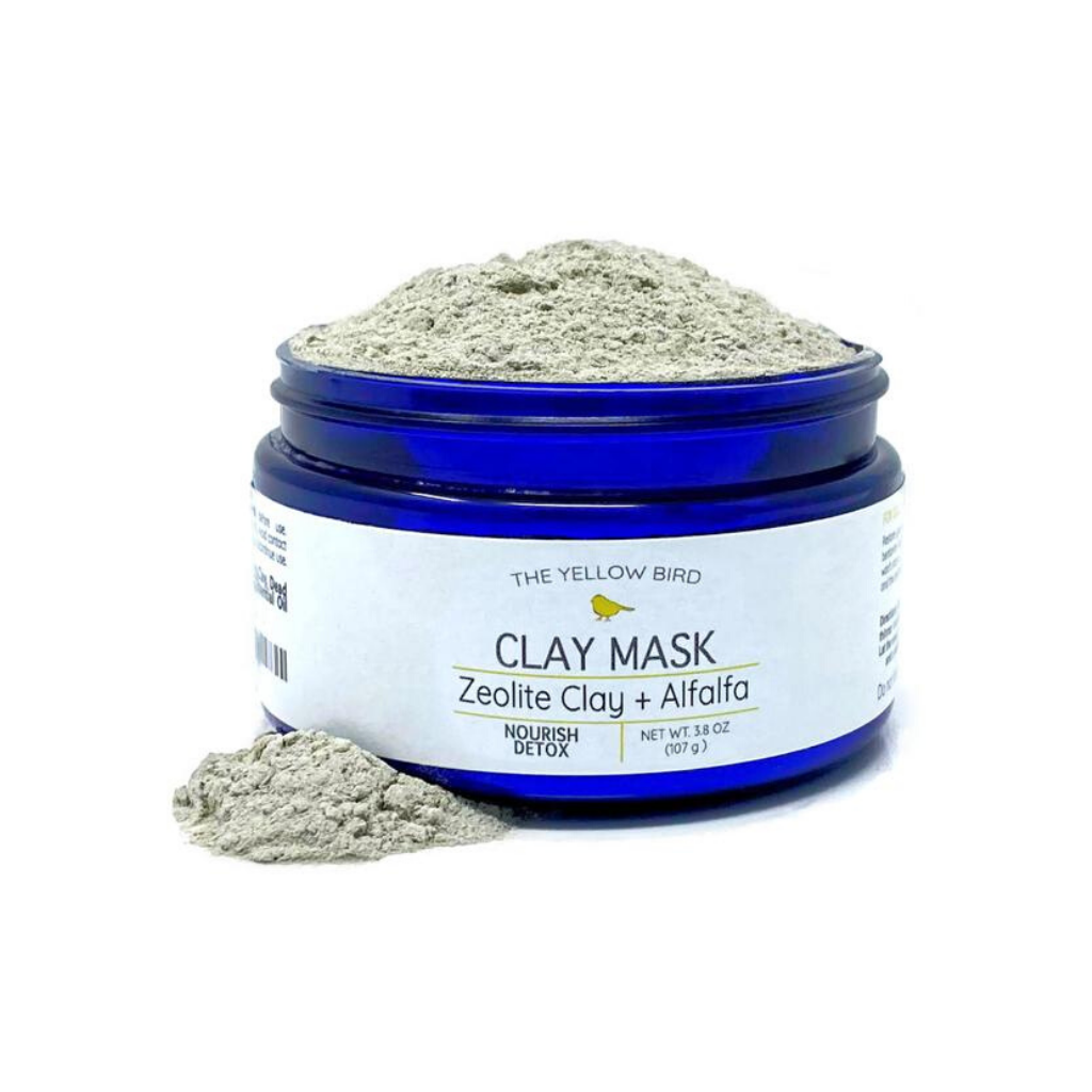 Zeolite Clay + Alfalfa Mask