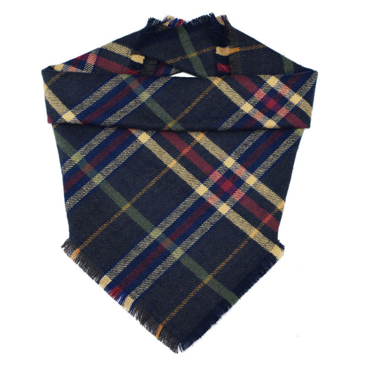 Woodland Plaid Fringe Bandana