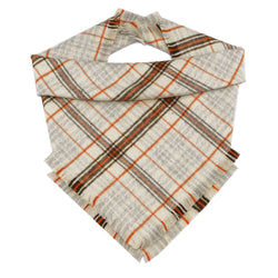 Woods Plaid Fringe Bandana