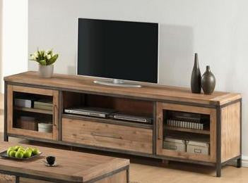 Beau Pullman TV Unit 2 Door + 1 Drawer