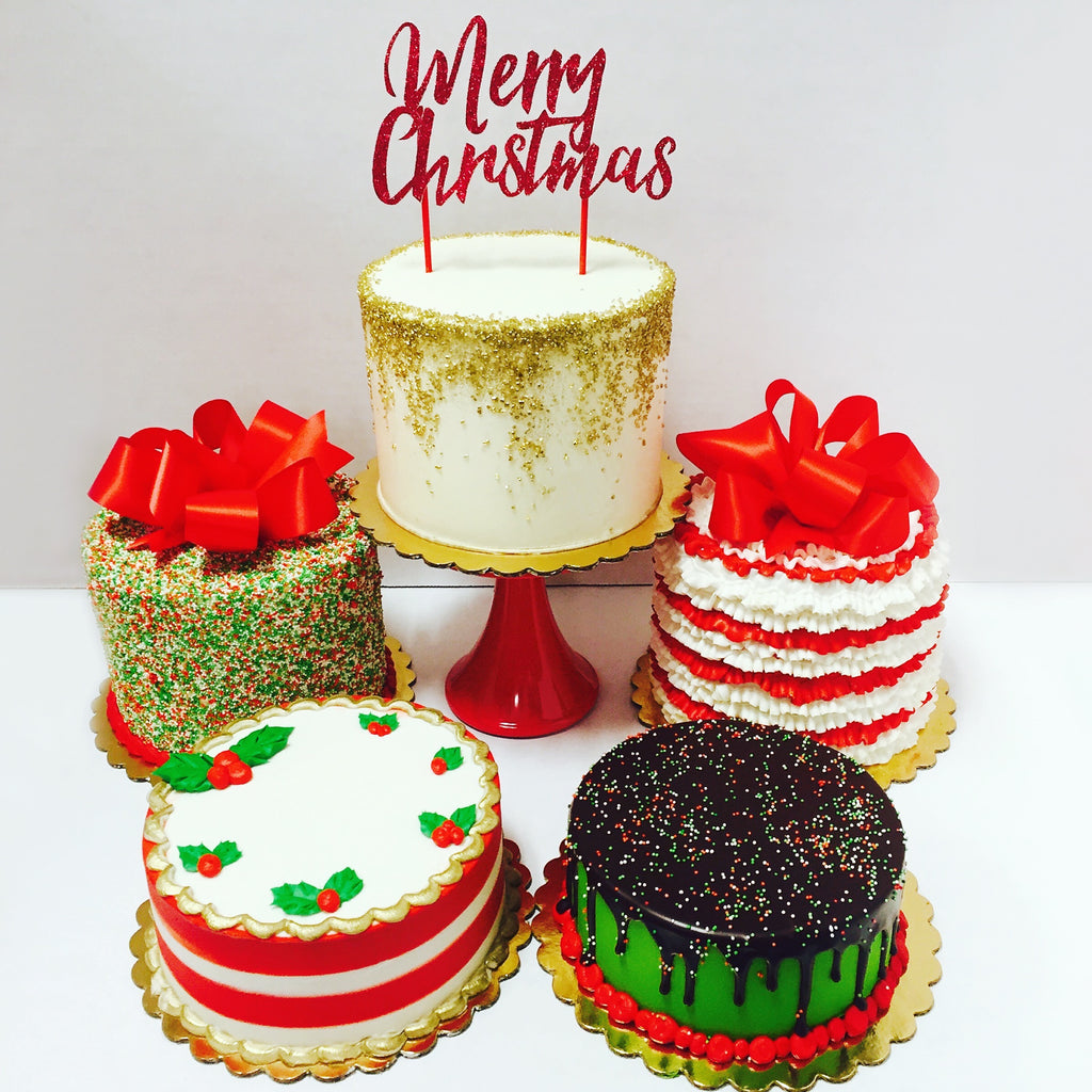 Holiday Cheer Cakes