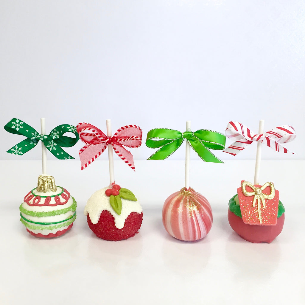 Be Merry Cake Pops