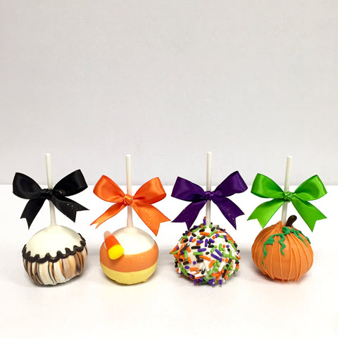 Trick-or-Treat Cake Pops