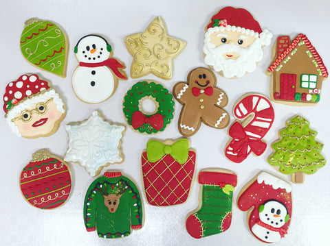 The Christmas Cast Sugar Cookies