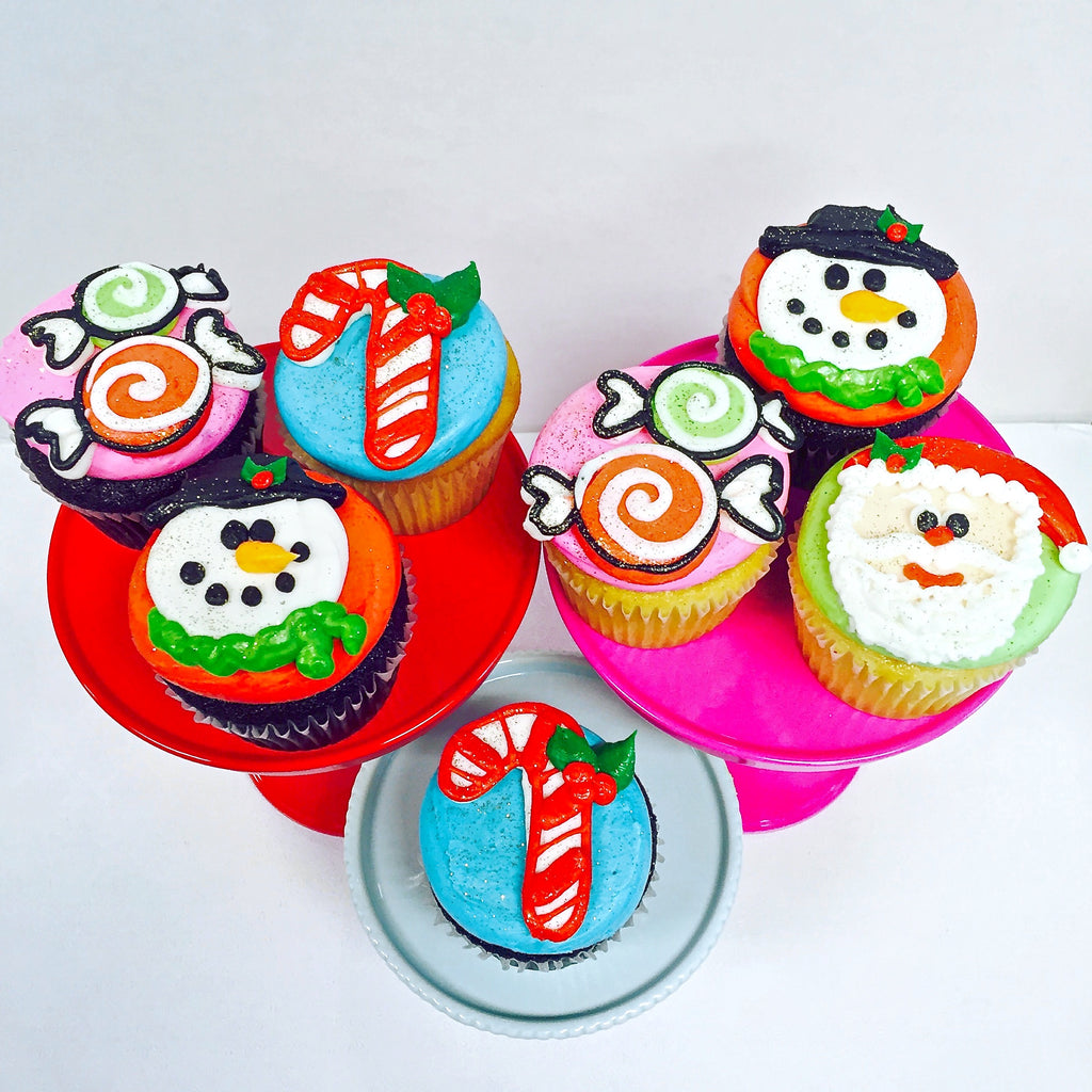 Very Merry Christmas Cupcakes