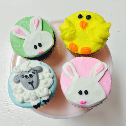 Bunny and Friends Cupcakes