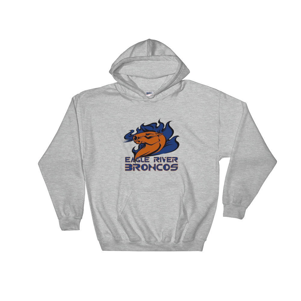 Eagle River Broncos Hooded Sweatshirt