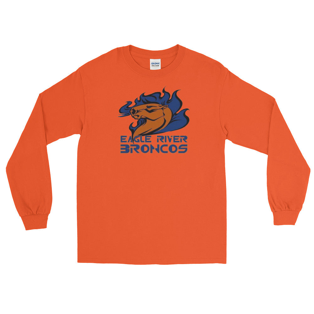 Eagle River Broncos Long Sleeve T-Shirt