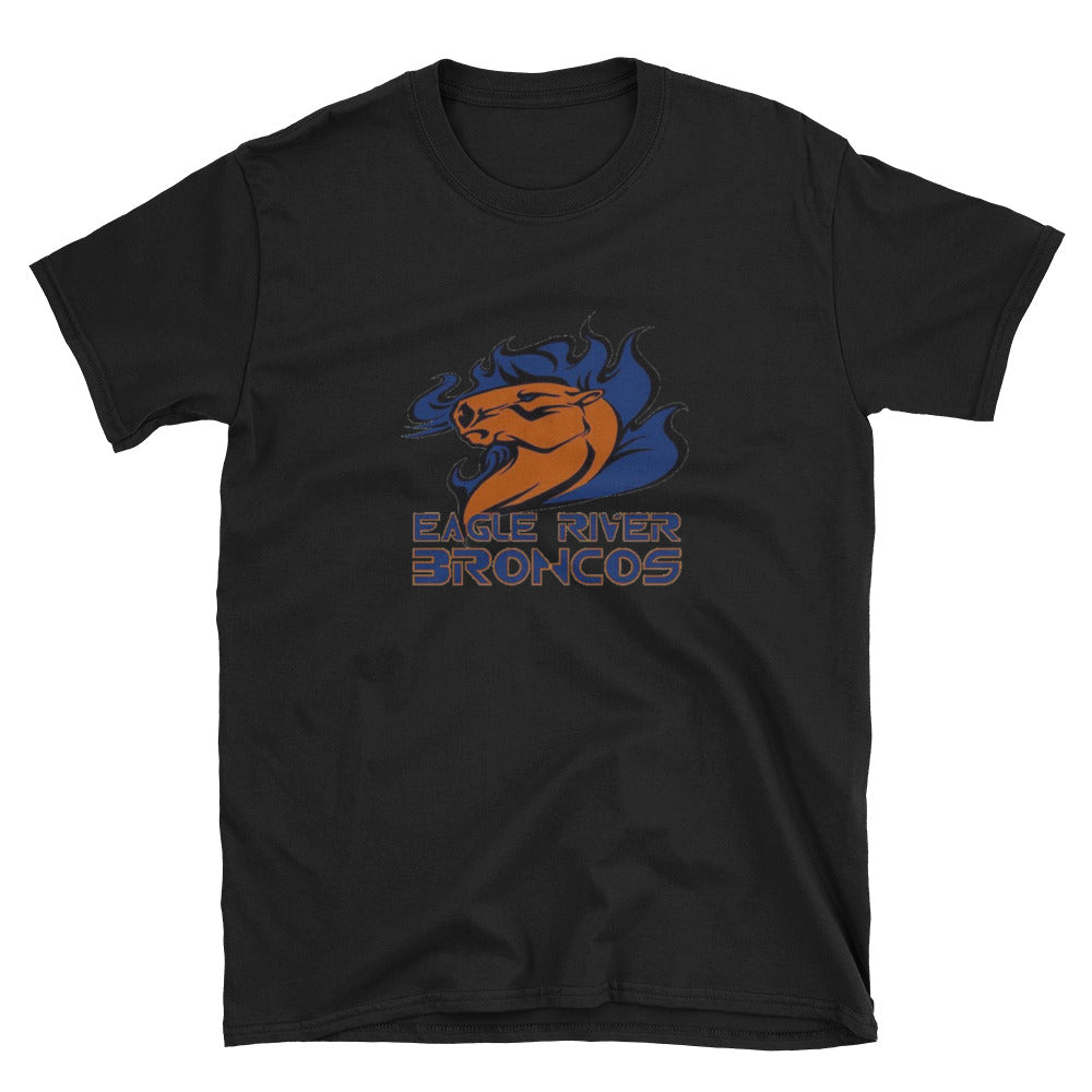 Eagle River Broncos Short-Sleeve Unisex T-Shirt