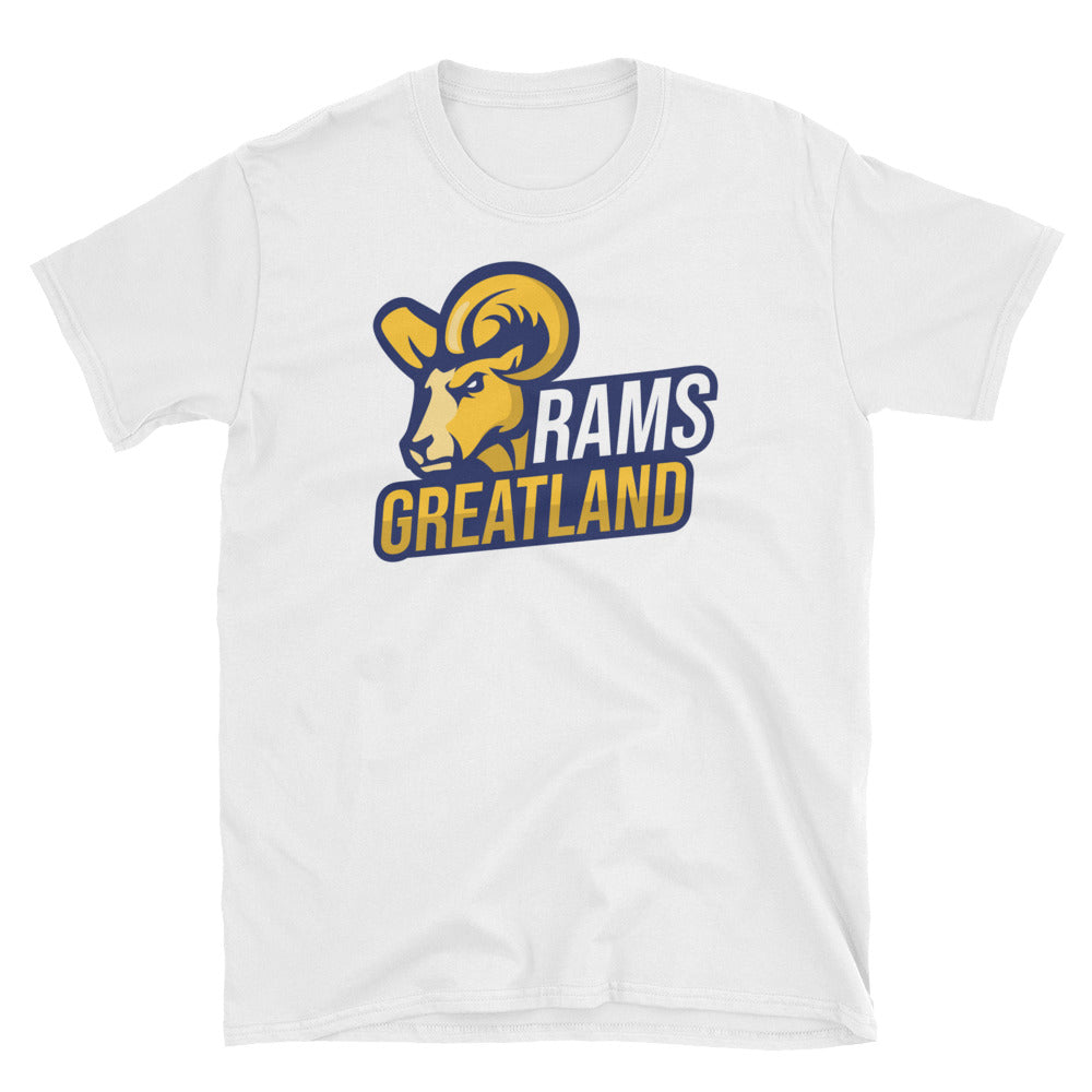 Greatland Rams Short-Sleeve Unisex T-Shirt