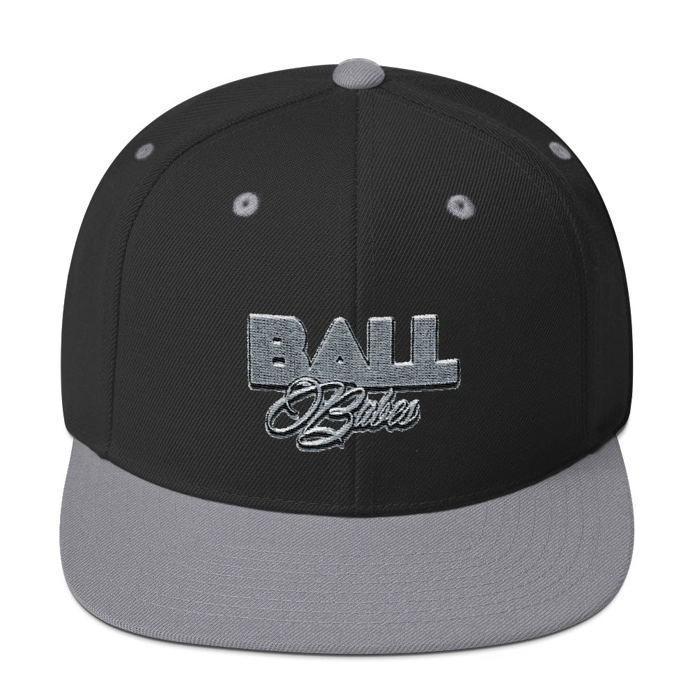 Ball Babes Snapback Hat