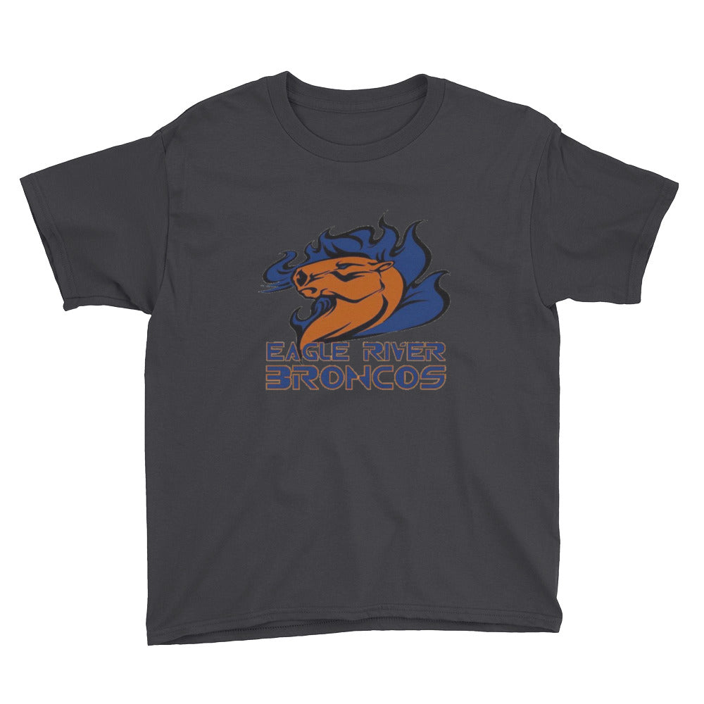 Eagle River Broncos Youth Short Sleeve T-Shirt