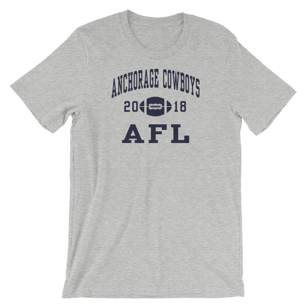 Anchorage Cowboys 18 Short-Sleeve Unisex T-Shirt