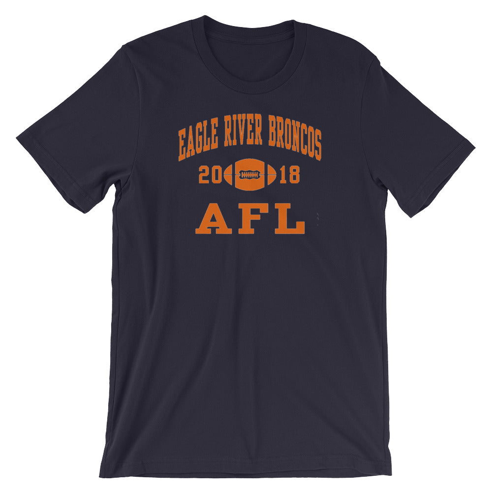 Eagle River Broncos 18 Short-Sleeve Unisex T-Shirt