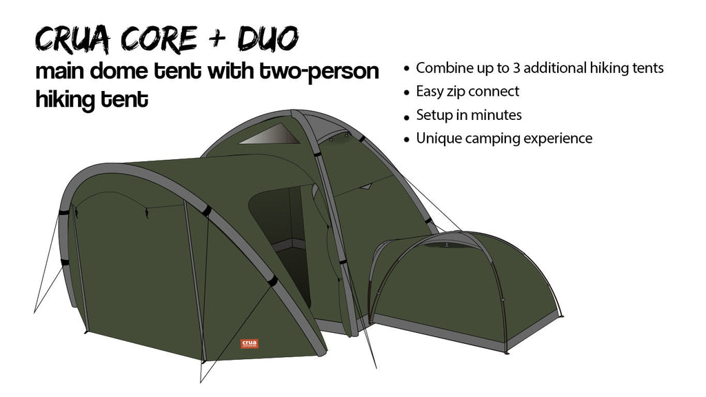 Join them together take them apart make them insulated the Crua Clan has the flexibility for any adventure.  sc 1 st  Crua Outdoors & The Crua Clan Three-In-One Tent u2013 Crua Outdoors