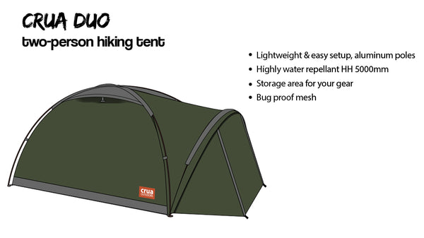 The Crua Clan includes three tents the Crua Core (air-frame living space) the Crua Duo (2 person hiking tent) and the Crua Cocoon (stand alone air- frame ...  sc 1 st  Crua Outdoors & The Crua Clan - The tent youu0027ve always wanted u2013 Crua Outdoors